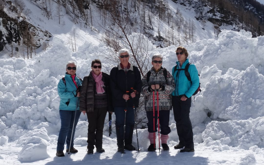 Sortie en raquettes / skis à Zinal 2019