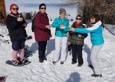 Sortie Raquettes / Skis 2018 à Thyon